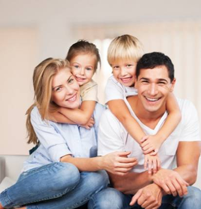 Picture of happy family